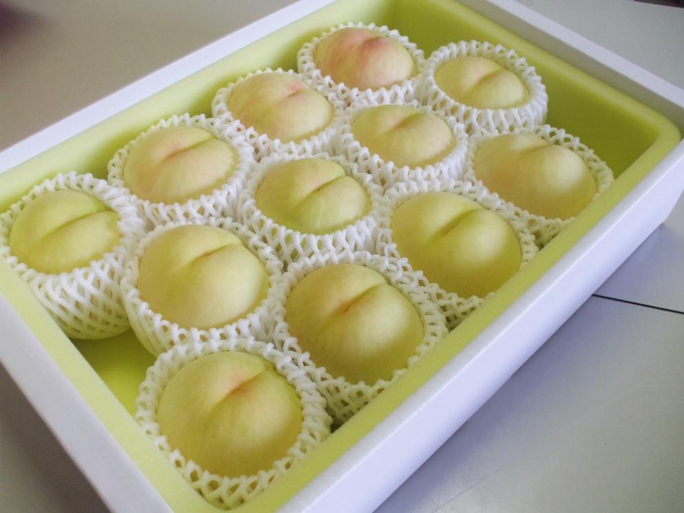 清水白桃【3kg】ご自宅用の画像