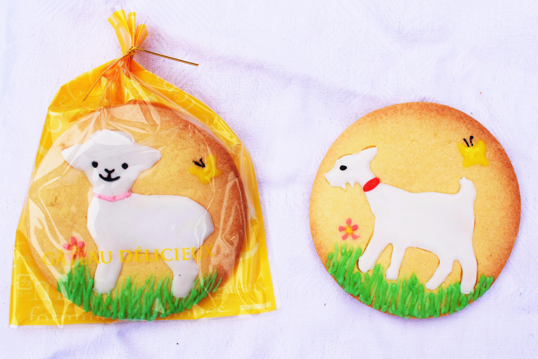めぇめぇクッキー画像