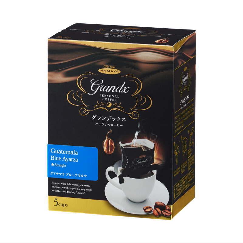 グランデックスパーソナルコーヒー グアテマラ ブルーアヤルサ 5袋画像