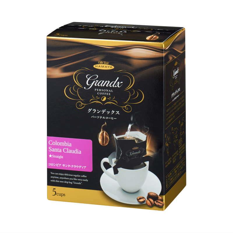 グランデックスパーソナルコーヒー コロンビア サンタ・クラウディア 5袋画像