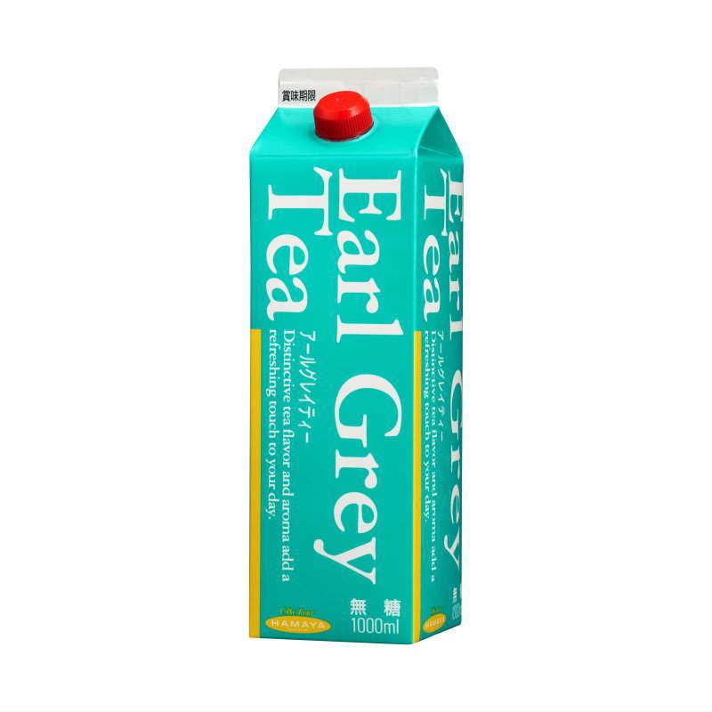 アールグレイ 無糖 1リットルパック画像