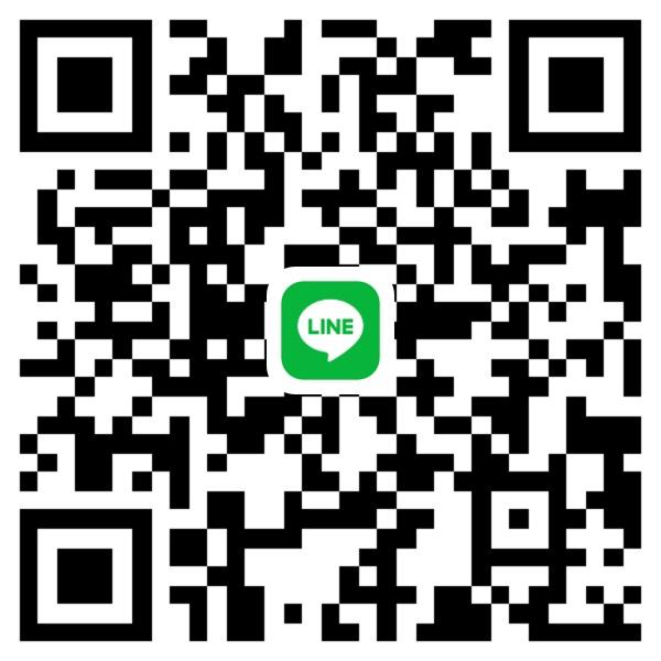 LINEのお友達に追加するためのQRコード
