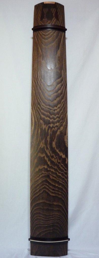 13絃琴 紅木ベタ クリ甲 綾杉の画像