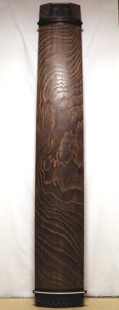17絃琴 紫檀巻き 並甲 7尺の画像