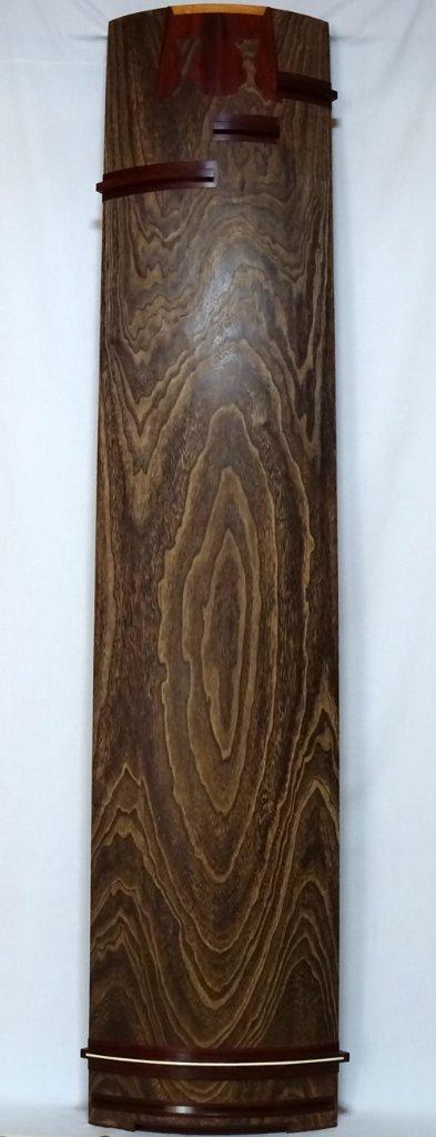 25絃琴 紅木巻き クリ甲 綾杉の画像