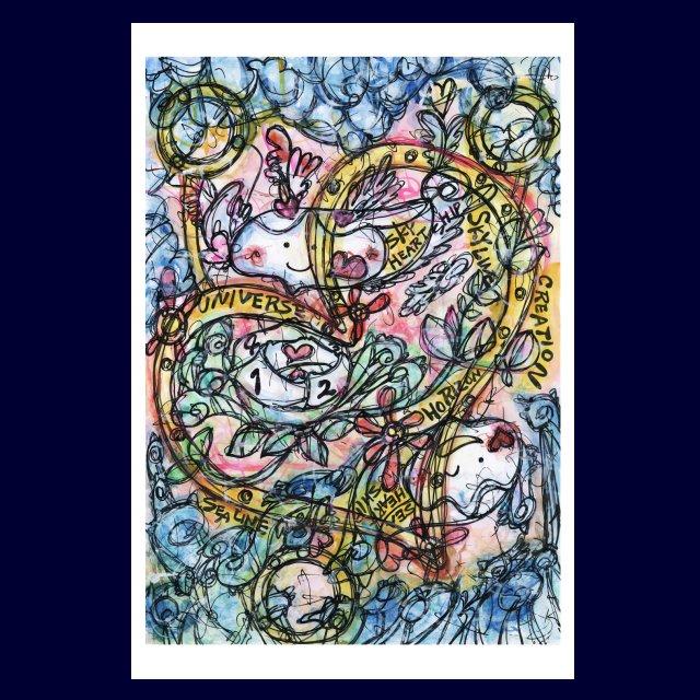 「 進め。AQUA UNIVERSE 」絵画カードの画像