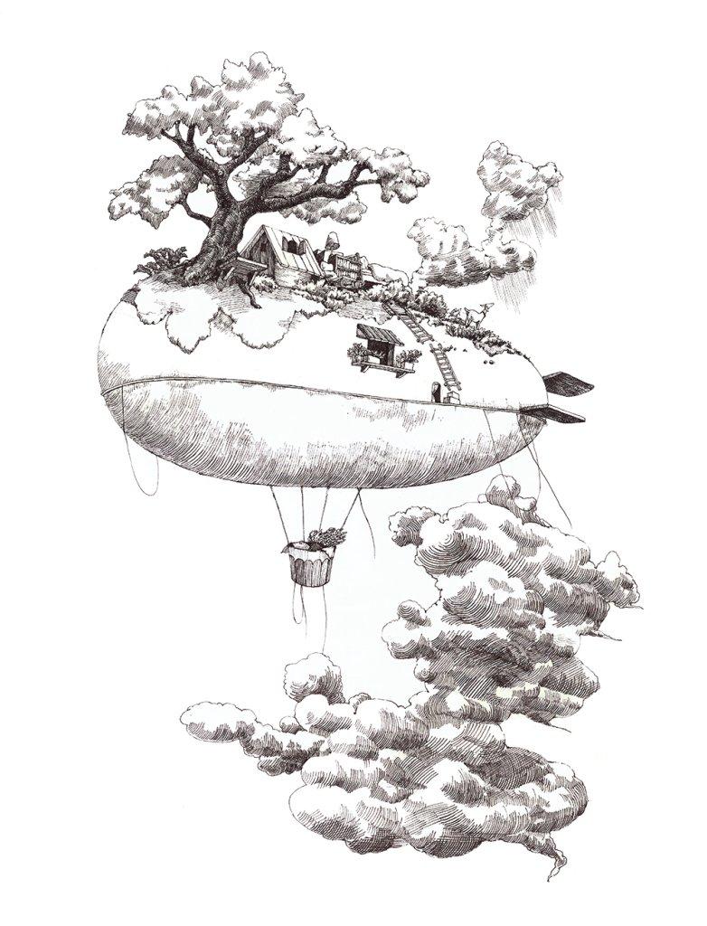 2.飛行船の画像