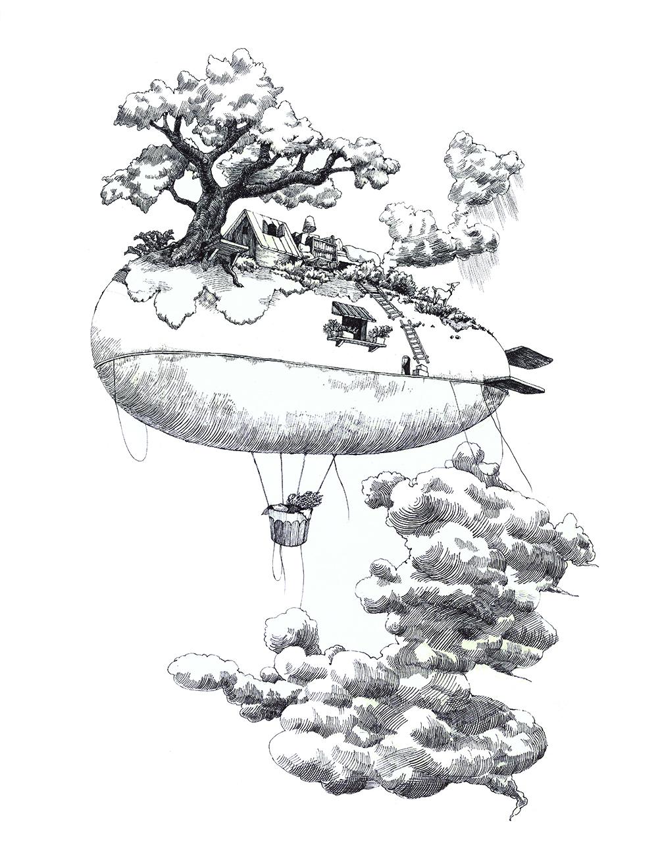 2.飛行船画像