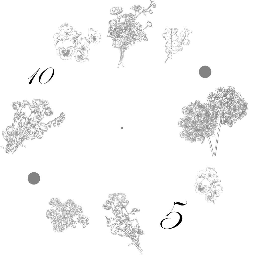 08.花時計の画像