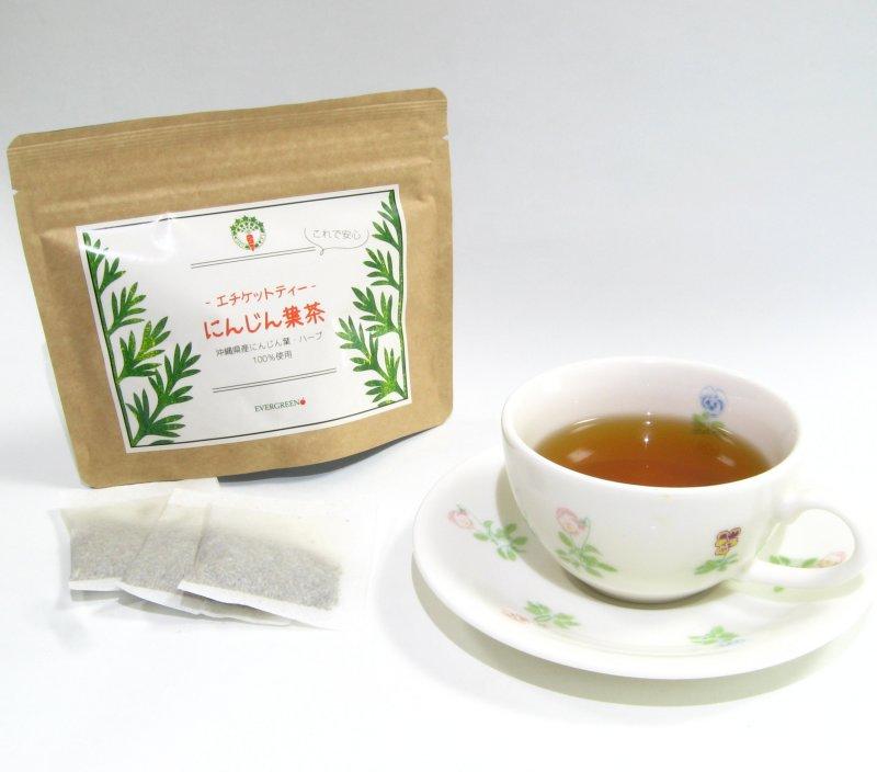 エチケットティー にんじん葉茶10包入り画像