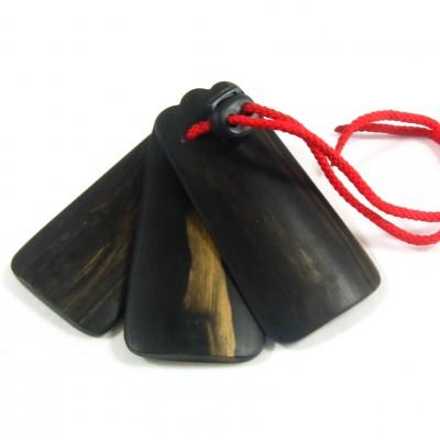 三板(サンバ)黒檀:琉球民謡楽器画像