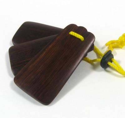 三板(サンバ)紫檀:琉球民謡楽器画像