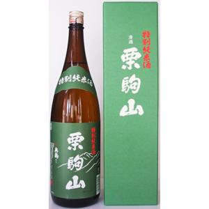 栗駒山 ササニシキ 特別純米酒画像
