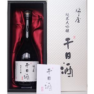 綿屋 26BY純米大吟醸 千日酒 720ml画像