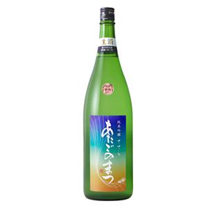 あたごのまつ 純米吟醸 ささら【おりがらみ】(うすにごり生酒)画像