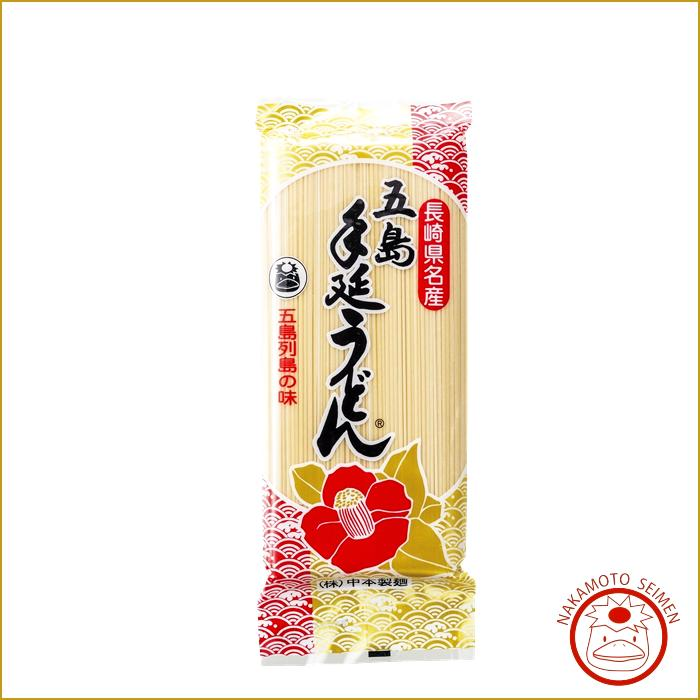 椿うどん 300g 袋   五島うどん本舗・中本製麺の定番品 腰が強く、素朴でどこか懐かしい味わいが人気画像