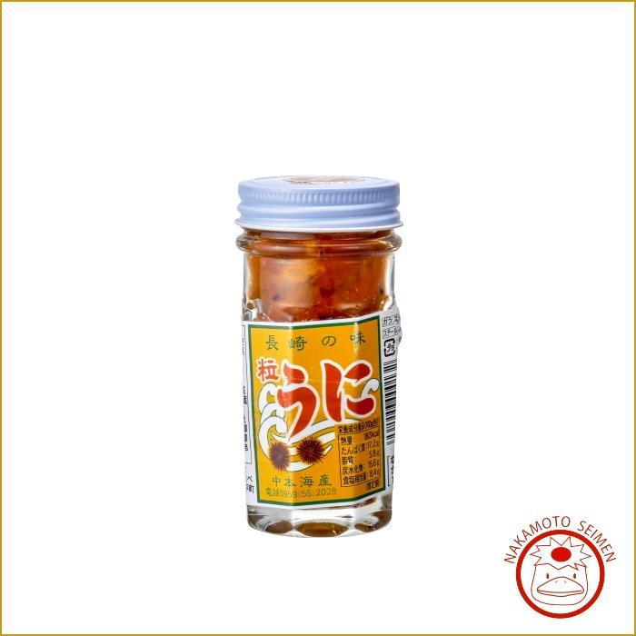 塩うに 60g 瓶入 長崎県産むらさきうに 長崎県近海の至福の味・プレゼントや贈答品におススメの一品画像