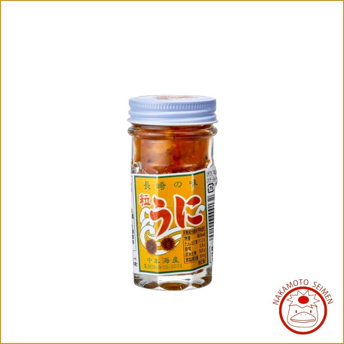 塩うに 60g 瓶入|長崎県産むらさきうに|長崎県近海の至福の味・プレゼントや贈答品におススメの一品画像