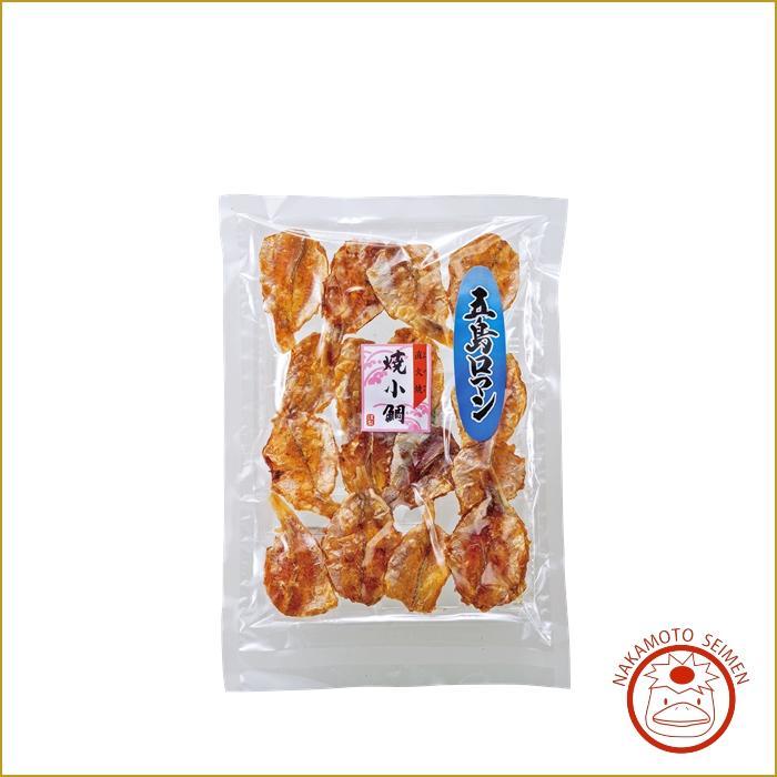 焼小鯛 100g 袋 大好評・小鯛をまるごと直火焼き・香ばしい味わいは日本酒・ビールにぴったり画像