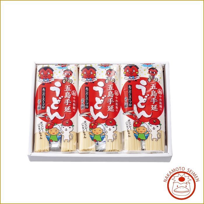 バラキン麺詰合せ(あごだしスープ付)6袋入 箱|お中元やお歳暮など贈答好適品|粘りのバラモンキング応援画像
