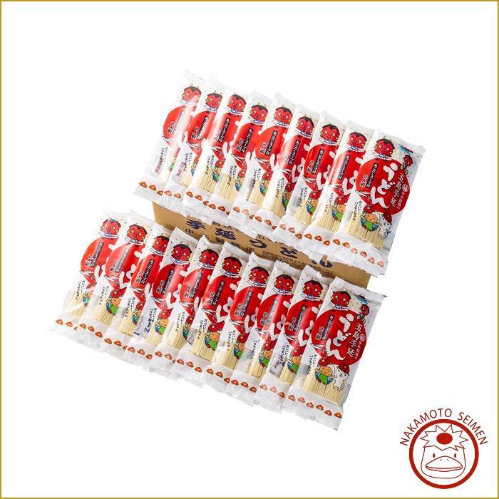 バラキン麺詰合せ(あごだしスープ付)20袋 箱|ウチご飯や業務用に最適|おっどん亭開店・バラモンキング応援画像