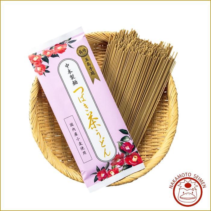 つばき茶うどん 200g 袋  椿茶のかすかな香りとつるんとしたのど越し 日本初、健康志向のツバキ茶うどん画像