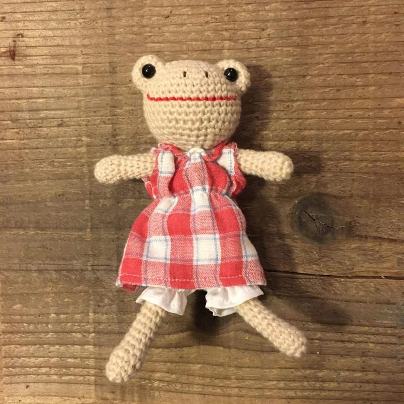 かえるのなみちゃん人形〈小〉の画像