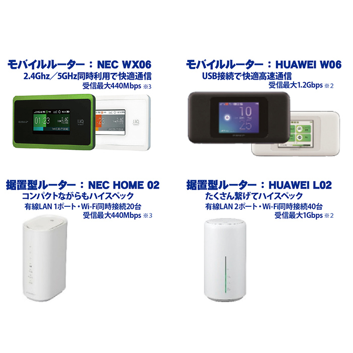 DIS mobile WiMAX2+ 年間パック画像