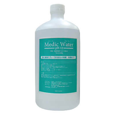 Medic Water(PH-12)メディック・ウォーター 1000mlの画像