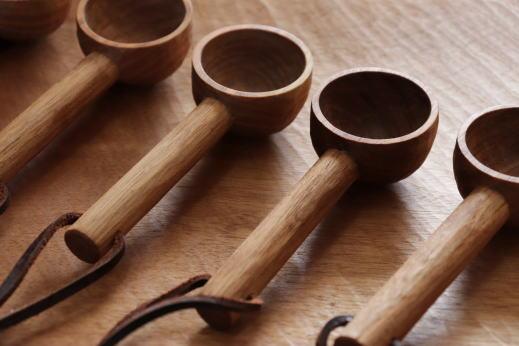 萩原英二 コーヒー豆スプーン画像