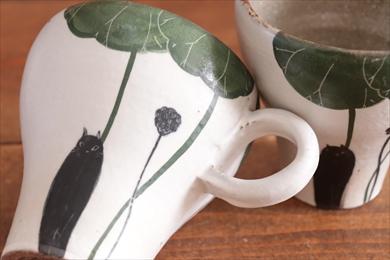大谷桃子 黒猫マグ画像