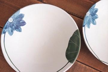 大谷桃子 ハスの花8寸皿画像