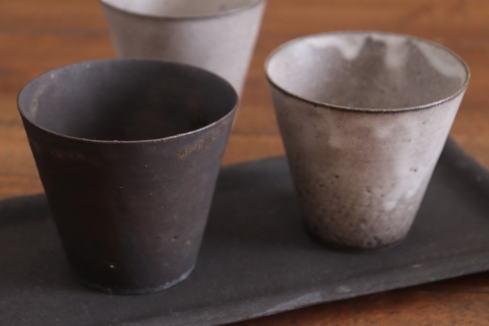 高田志保 チタン釉フリーカップ画像