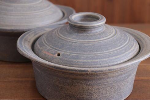 山本泰三 緑石釉煮込み鍋画像