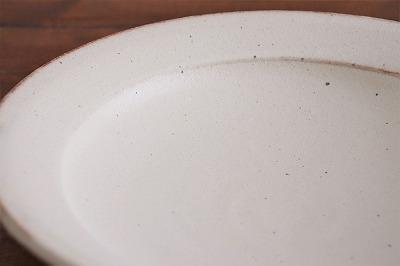 山本泰三 黄粉引カレー皿画像