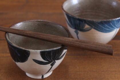 大谷桃子 ハス池飯碗画像