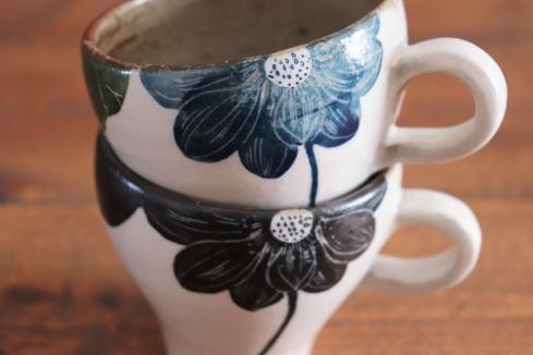 大谷桃子 ハスの花コーヒーカップ画像