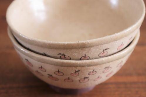 大野素子 りんご飯碗画像