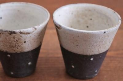 村上直子 黒灰釉エスプレッソカップ画像