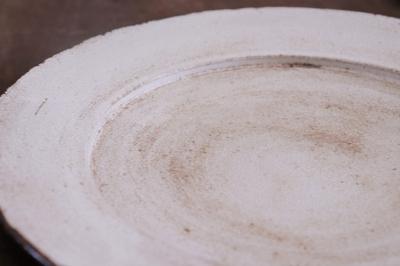 戸田文浩 彩陶リム皿画像