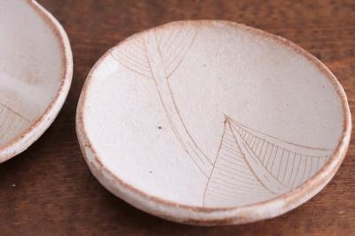 大谷桃子 バナナの葉まる豆皿画像