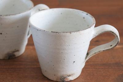 十河隆史 粉引マグカップ画像