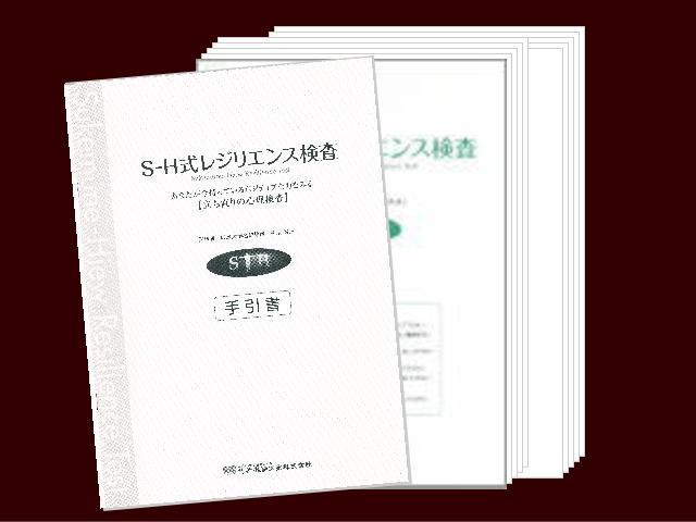 【基本セット】レジリエンス検査用紙10枚&手引書画像