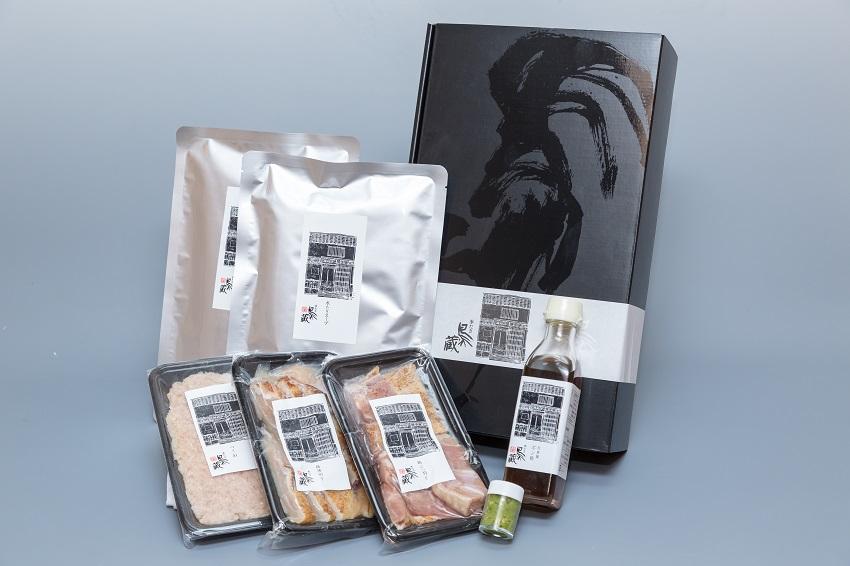 信州福味鶏水炊きセット【贈答用】 (2~3人前)画像