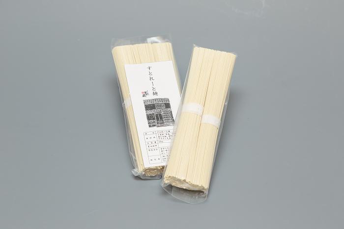 信州福味鶏水炊き用 すとれーと麺(2食or3食)画像