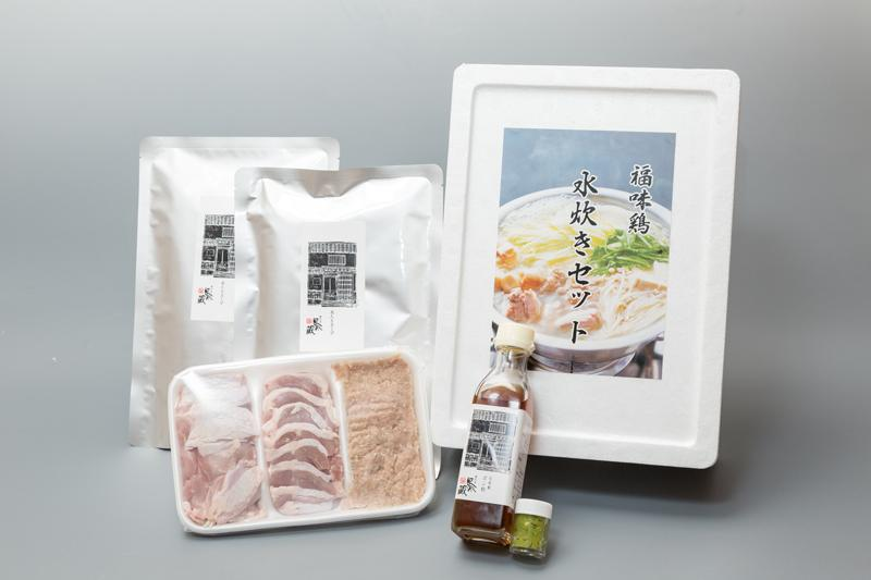 信州福味鶏水炊きセット【家庭用】 (2~3人前)画像