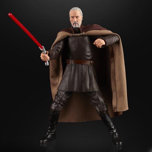 Star Wars The Black Series Count Dooku 6-Inch Action Figure画像
