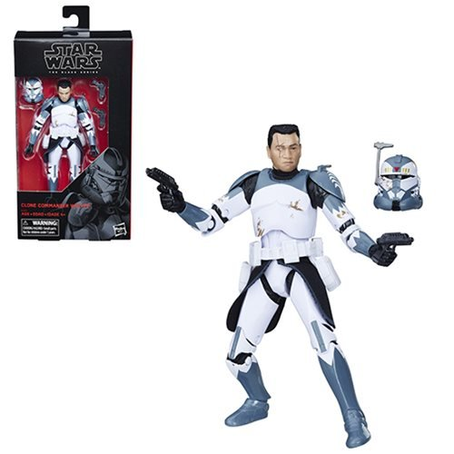 Star Wars The Black Series Commander Wolffe 6-Inch Action Figure画像