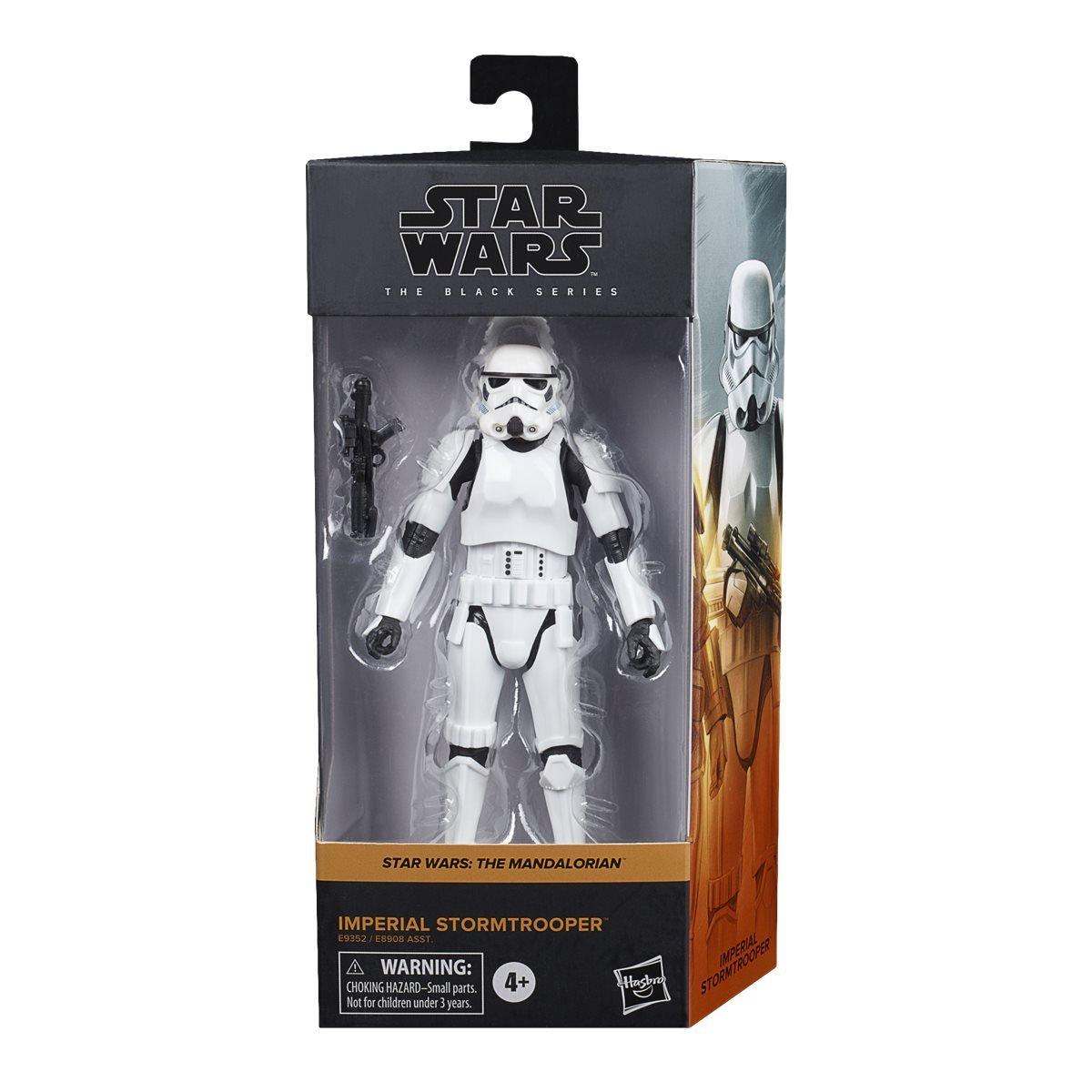 Star Wars The Black Series Imperial Stormtrooper Figure画像