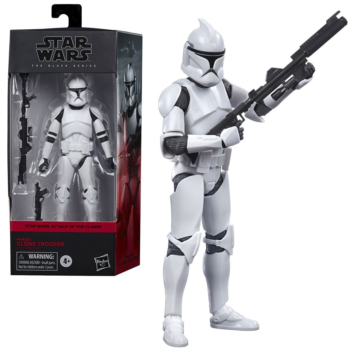 Star Wars The Black Series Clone Trooper AOTC 6-Inch Action Figure画像